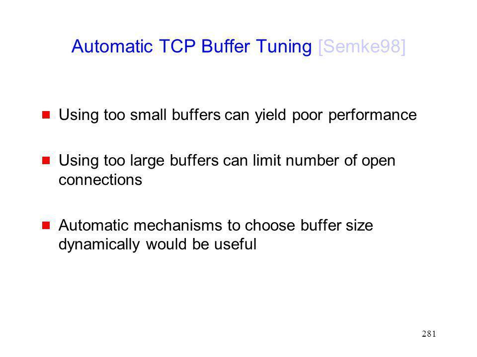 Automatic TCP Buffer Tuning [Semke98]